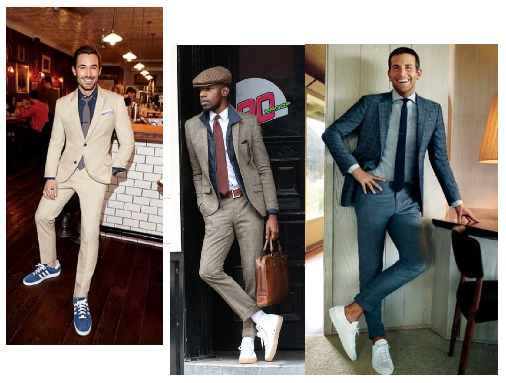 converse shoes are boring wear sneakers with suits fashion
